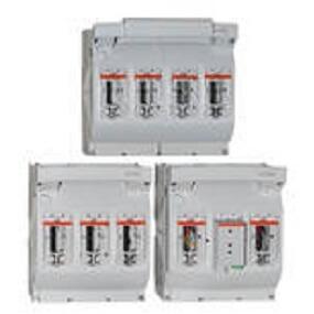 MULTIBLOC® 2.RST8 Boyut 2, 400A, 690VAC, Bara montajı için tasarım, Üçlü Kutup